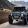 メルセデス・ベンツ 新型 ゲレンデヴァーゲン G500 4x4²発表!!その気になる全貌とは?のサムネイル画像
