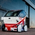 自動運転車 イギリスの「LUTZ Pathfinder」が公道を走る!のサムネイル画像
